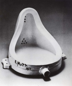 'Fountain' 1917 Marcel Duchamp