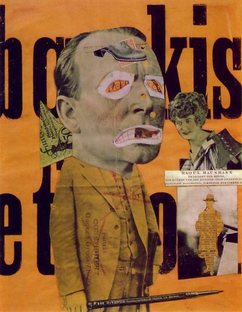 The Art Critic by Raoul Hausmann 1919-1920