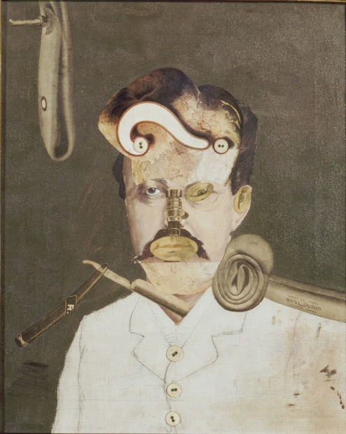 A victim of Society (later titled 'Remember Uncle August, the Unhappy Inventor') 1919 by George Grosz