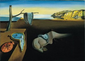 'The Persistance of Memory' 1931 Oil on Canvas by Salvidor Dali