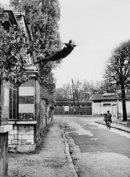 'Leap into the Void' by Yves Klein